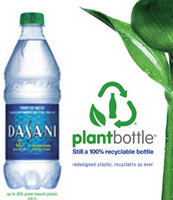 Eco Bottles Odwalla Dasani Beverages